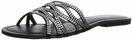 Madden Girl Women's Sundaay Slide Sandal 6.5 Black/Multi - $43.72