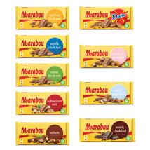 Marabou Milk Chocolate Bars 180-200 gram 7oz Many Flavors Made in Sweden - $8.89