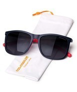 COLOSSEIN Polarized Sunglasses for Men TR90 Soft Memory Unbreakable Squa... - $746,37 MXN