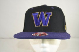 University of Washington Huskies Black/Purple Baseball Cap  Fitted 6 7/8 - $24.99