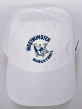 Westminster College Basketball Fulton Missouri Men's Nike White Hat Adju... - $29.20