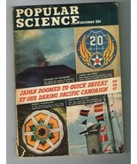 Popular Science October 1944 With Air Force Insignia Page - $4.99