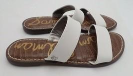 Sam Edelman Women's Gala Slide Sandal, Bright White Leather, 8 M - $29.92