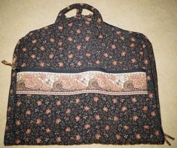 Vintage Retired Vera Bradley Walnut Brown Garment Travel Vacation Travel - $90.00