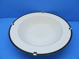 """Mikasa Midnight 10"""" Serving Bowl In Excellent Condition - $21.56"""
