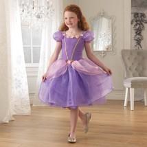 KidKraft Rose Princess Costume, Purple, Large - $39.07