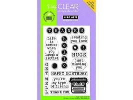 Hero Arts-Poly Clear Stamp Set #CL483 - $11.99