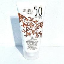 Australian Gold SPF 50 Botanical Sunscreen 5oz Mineral Lotion non-greasy... - $10.68
