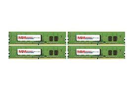 32GB (4x8GB) DDR4-2400MHz PC4-19200 ECC RDIMM 1Rx8 1.2V Registered Memory for Se - $164.33