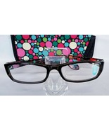 Foster Grant +2.00 Tova Black Transparent Multi Color Stem Reading Glasses - $8.00