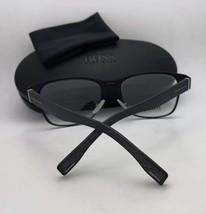 New HUGO BOSS Eyeglasses BOSS 0842 003 49-20 145 Matte Black Frames w/ Clear