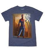 MARVEL COMICS SPIDERMAN MENS GRAY T-SHIRT NEW - $12.97