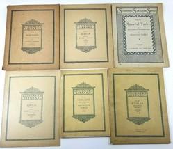 Schirmer's Library Vols. 90, 321, 150, 46, 242 & 467 Piano Sheet Music Book - $28.53
