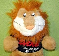 "1999 D.A.R.E. Lion Plush Resist Drugs & Violence 17"" VINTAGE Stuffed Ani... - $23.38"
