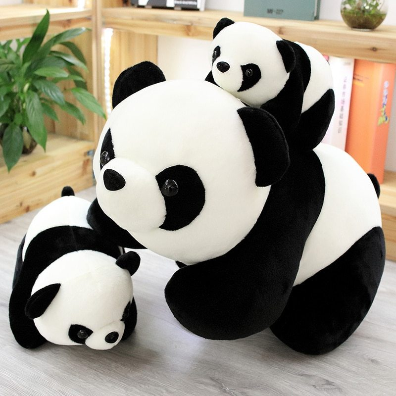 """Panda doll plush toy cuddle giant doll simulation doll Cuddle Pillow girl""""s Day  image 3"""