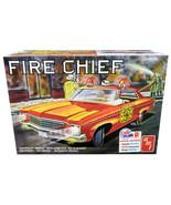 Skill 2 Model Kit 1970 Chevrolet Impala Fire Chief 2 in 1 Kit 1/25 Scale... - $54.94