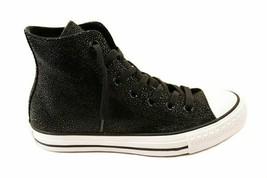 Converse Donna 553345C Ctas Stingray Metallic Hi Sneakers Nere EUR 36.5 - $123.12