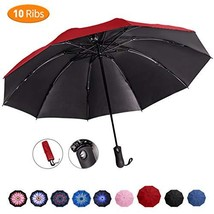 Viefin Reverse Folding Compact Travel Umbrellas for Women, Inverted Insi... - $16.57