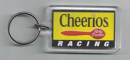 General Mills CHEERIOS Betty Crocker Racing Lucite Keychain Collectible - $6.64