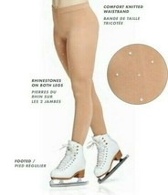 Mondor  Model 911 Crystal Skating Tights - Caramel - $24.99
