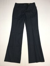 Express Editor Pants 2 Reg Inseam 32 Womens Flare Wide Waistband NWT  - $58.05
