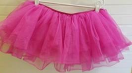 "Women's Tulle Tutu - Pink Fushia - Fits Most (28-36"") - Race Dance Mardi Gras - $9.46"
