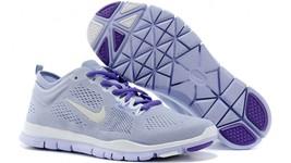 NIKE para DAMA 5.0 Gratis Tr Fit 4 Aliento Zapatos Talla 11.5 Púrpura Bl... - $46.11