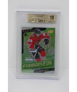 2015-16 Upper Deck Fusion Fission Patrick Kane Blackhawks Beckett 10 PRI... - $189.99