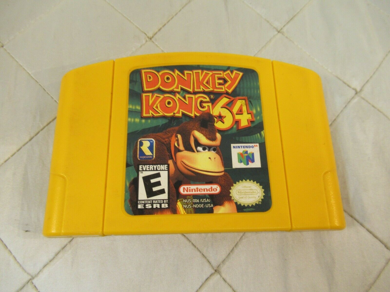 Donkey Kong 64 (Nintendo 64, 1999) Video Game