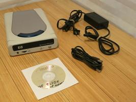 Hewlett Packard HP 8200 Series External USB CD Burner Writer & Windows XP Driver - $46.39