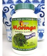 SUNSHINE NATURALS Moringa Oleifera 800mg 100% Pure Dietary Supplement Ex... - $19.99