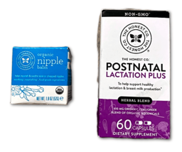 NEW - The Honest Co Breastfeeding Care Kit - Postnatal Lactation Plus & ... - $9.30