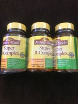 3x - Nature Made Super B-Complex 140 Tablets/each = 420 Total!! - Gluten... - $29.69