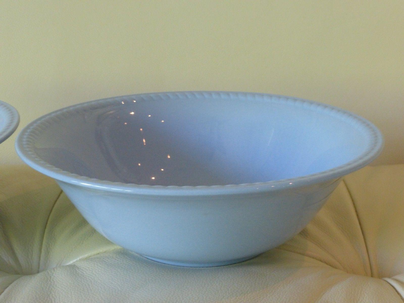 """Kraft Blue by Homer Laughlin Vegetable Bowl 8 3/4"""""""