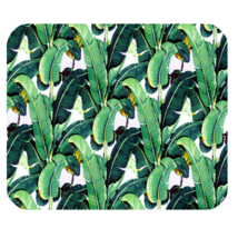 Mouse Pads Banana Leaf Fresh Green Tree Beautiful Nature Fantasy Mousepads - $114,51 MXN