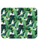Banana leaf fresh green tree beautiful nature for animation fantasy mousepads thumbtall