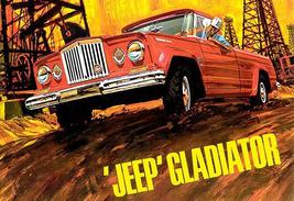 1965 Jeep Gladiator - Promotional Advertising Poster - $9.99+