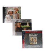 Simon and Garfunkel Righteous Brothers George Jones 3 CD Bundle - $14.97