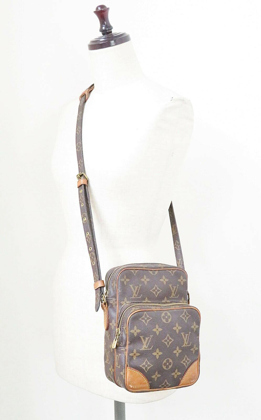 Authentic LOUIS VUITTON Amazone Monogram Cross body Shoulder Bag Purse #34636 image 2