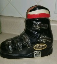 Vintage 1972 Ezra Brooks SKI BOOT Whiskey Decanter Heritage China - $75.00