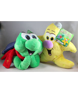 Christian and Jacob NEW Plush Toys From God's Gift Adventures Sea Kids B... - $28.08
