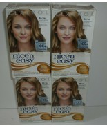 Clairol Nice 'N Easy Permanent Hair Color 8A/106 Natural Medium Ash Blonde x4 - $26.17