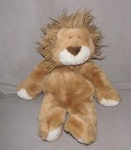 "1999 COMMONWEALTH 13"" Plush LION Brown Mane Bean Bag Stuffed Animal Toy - $47.02"