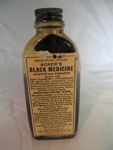 Acker's Black Medicine - Laxative & Purgative - Appx. 1930's - Antique - $32.73