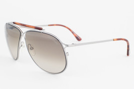Tom Ford Magnus Silver Havana / Gray Gradient Sunglasses TF193 10P - $185.22
