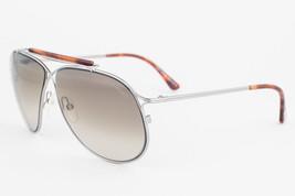 Tom Ford Magnus Silver Havana / Gray Gradient Sunglasses TF193 10P - $185.22