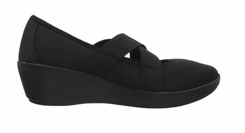 New Crocs Women's Busy Day Strappy Wedge Shoes Black Variety Size image 2