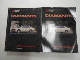 1999 Mitsubishi Diamante Service Repair Shop Manual 2 Volume Set Factory Oem X - $79.19
