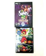 Angry Birds, Angry Birds Seasons & Angry Birds Space Sims 2 Nightlife PC... - $11.29