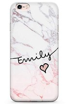 Case Warehouse iPhone 6 Plus Case, Personalised Custom Name Pink Fade Ma... - $9.75